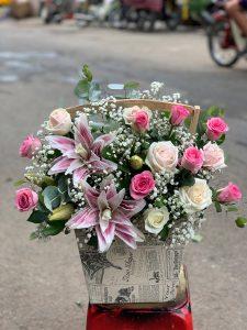 Shop hoa tươi Nguyễn Văn Cừ Tp Hà Nội