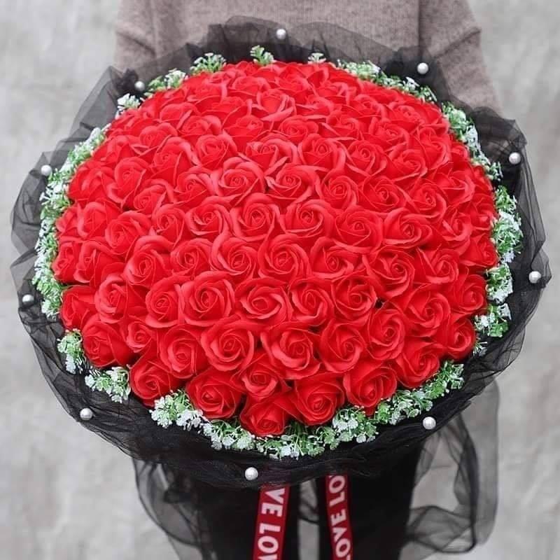 Hoa lụa đẹp ở hà nội