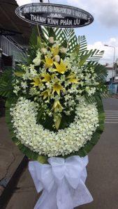 hoa chia buồn đám tang ba vì hà nội
