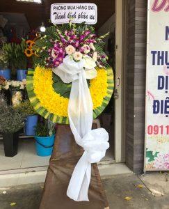 hoa chia buồn đám tang gia lâm hà nội