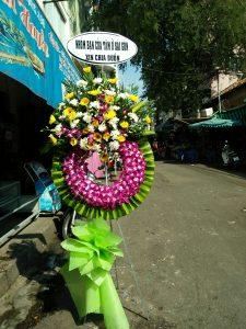 hoa chia buồn đám tang sơn tây hà nội