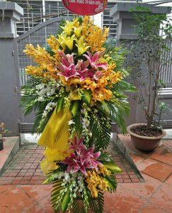 hoa chia buồn đám tang ứng hòa hà nội